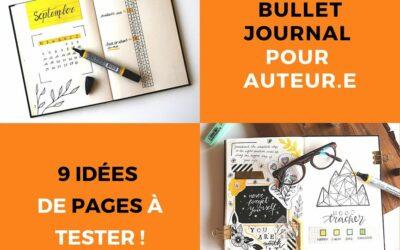 Bullet Journal pour auteur :  9 idées de pages à tester !